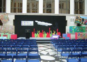 Escenarios actividades, conciertos y espectáculos